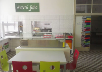Škola Blížkovice - jídelna